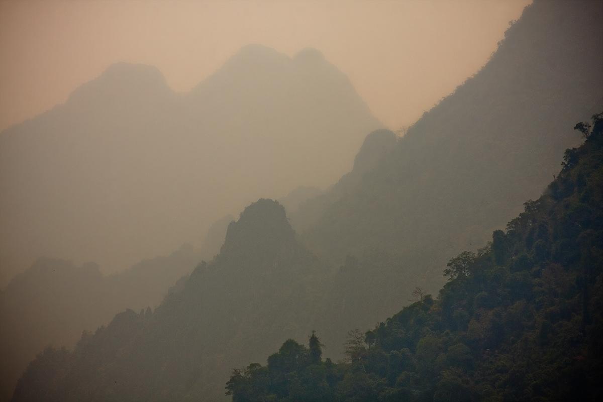 Adobe Portfolio asia Laos mountains Nature vang viang
