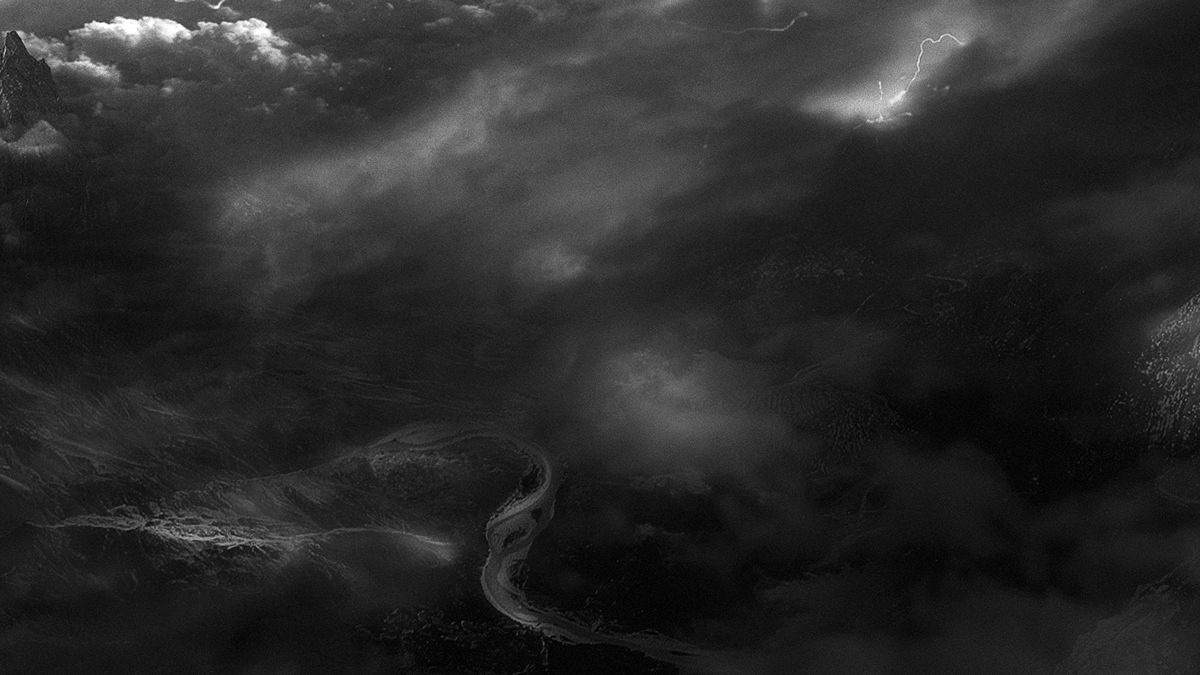 Mattepainting matte scene digitalart digital storm forces Nature