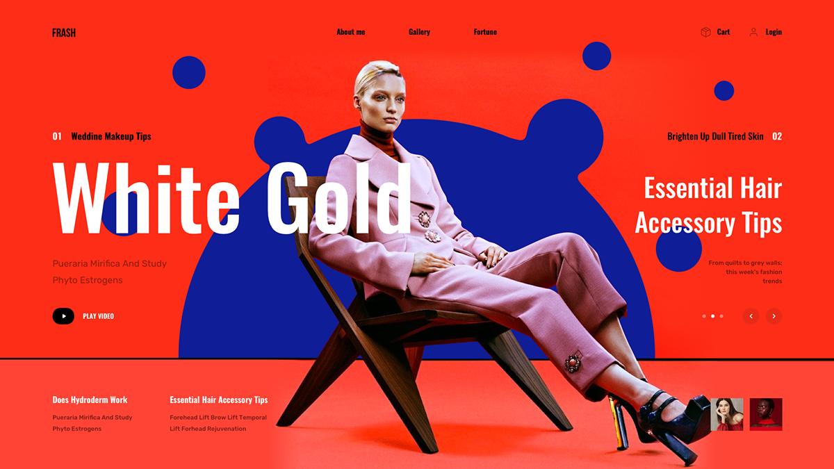 Rozmanitý design na webu