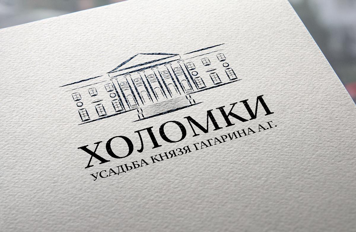 логотип logo фирменный стиль усадьба