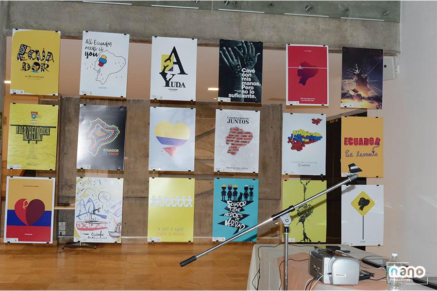 """Disenadores con corazòn,- Designers with,heart"" / Poster,exhibition 2016,poster"