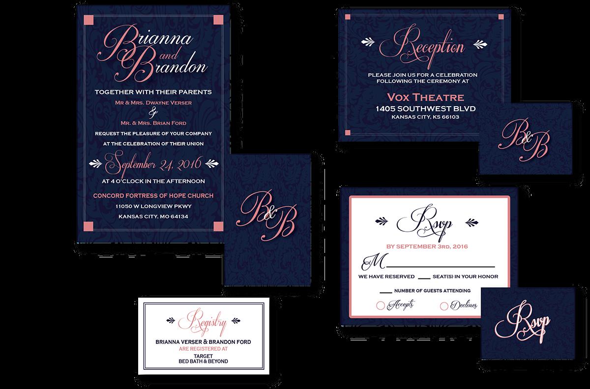 Invitation Designs on Behance