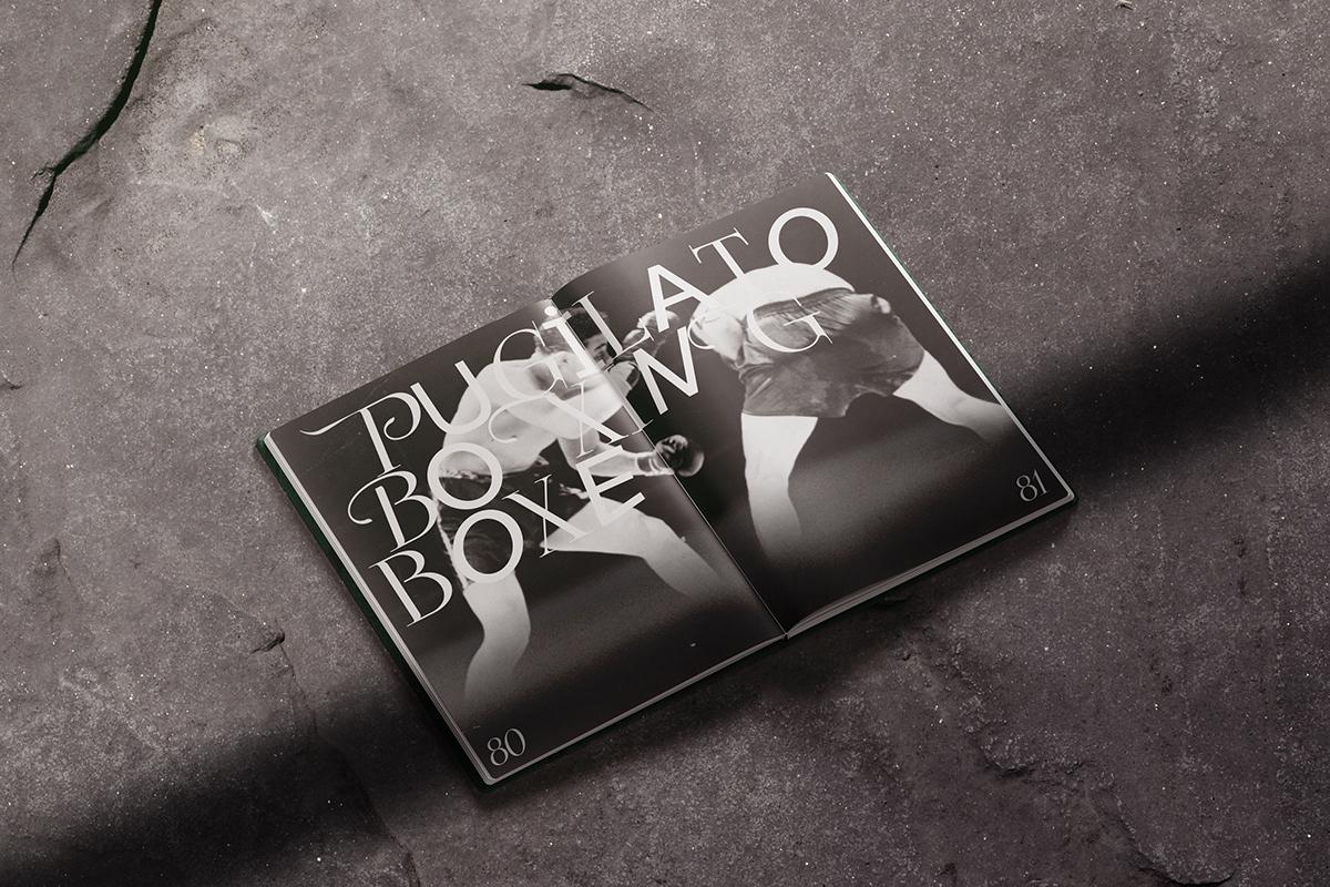 arte design editorial grafik graphic design  nobile arte print pugilato