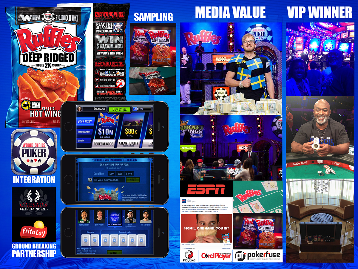 Ruffles world series of poker sweepstakes