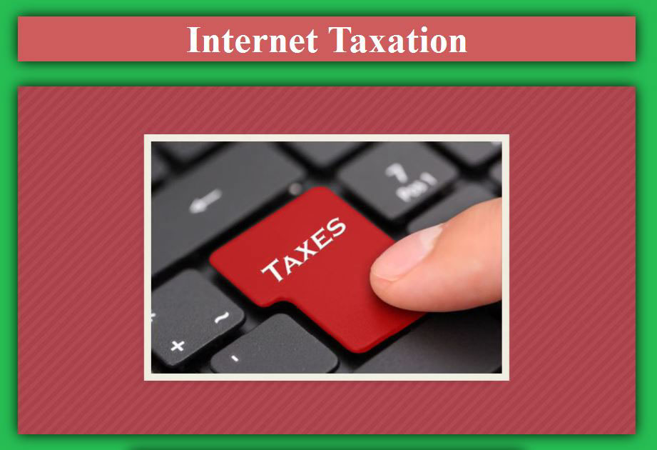 internet taxation essay In a wall street journal debate on internet sales tax, michael mazerov argues that requiring online retailers to charge sales tax is only fair, while steve delbianco says requiring online.