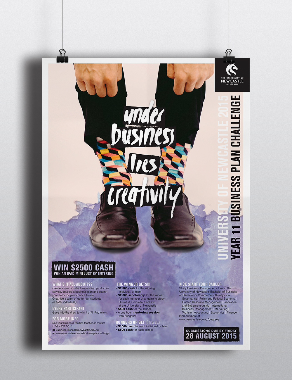 newcastle business school australia