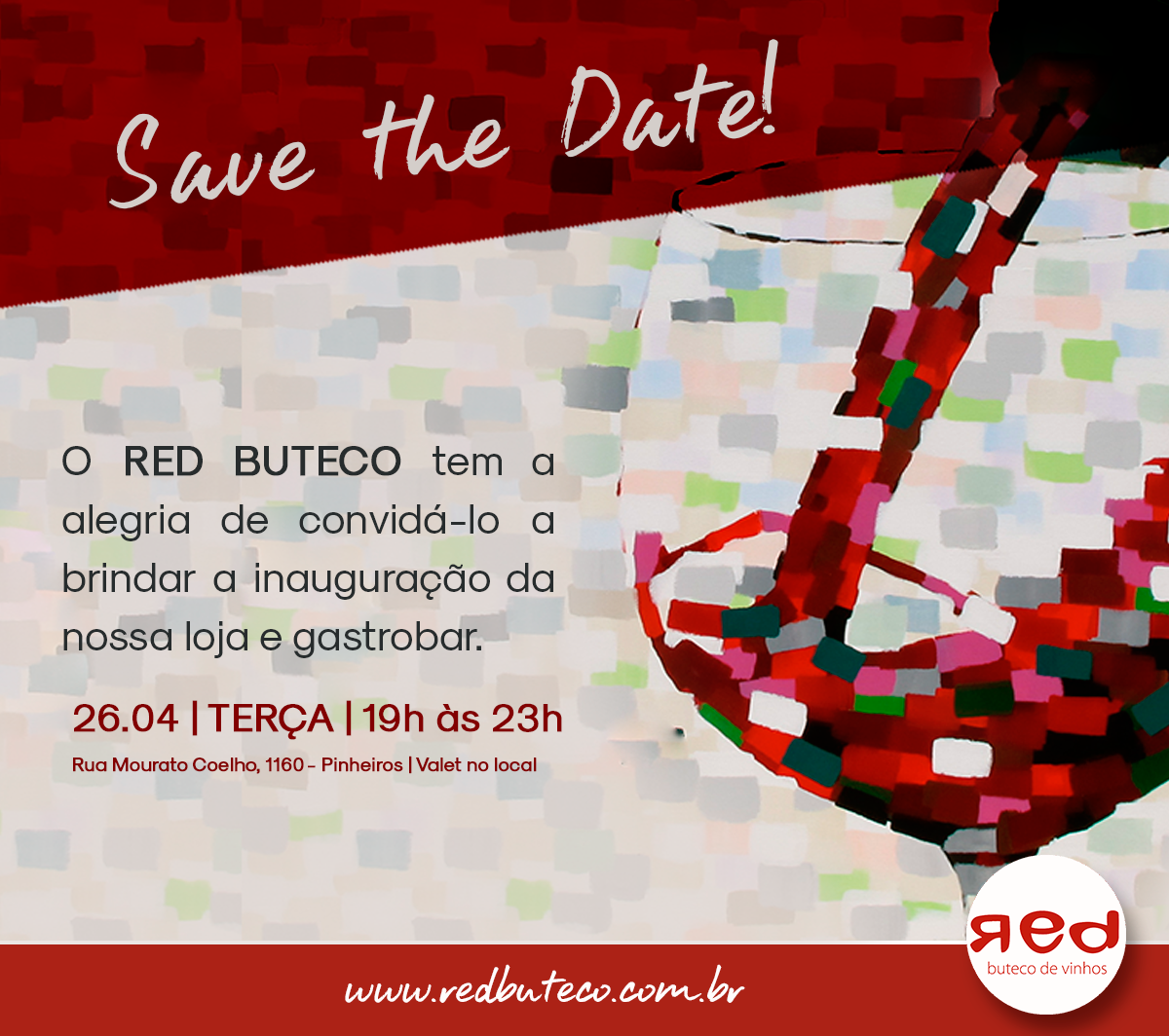 social media Red Buteco VINHOS wine