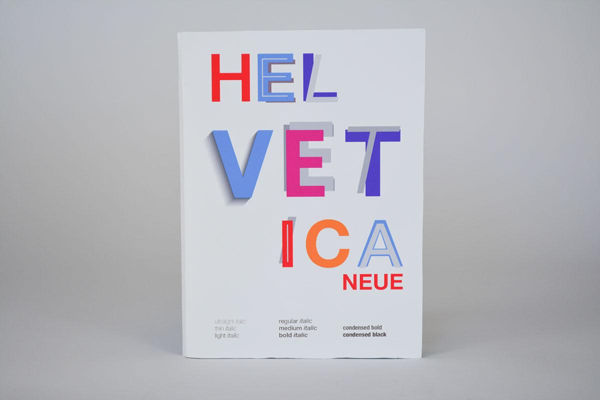 Helvetica Neue (Type specimen book) on PhilaU Portfolios