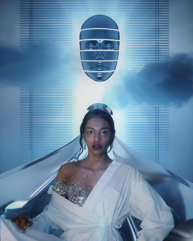 3D art direction  design editorial Fashion  Photography  vogue