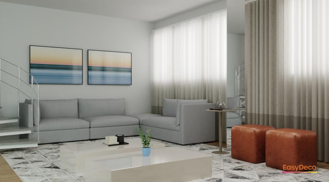 ARQUITETURA arquitetura de interiores decor design dinner room projeto online sala Sala de Tv sala integrada tv room