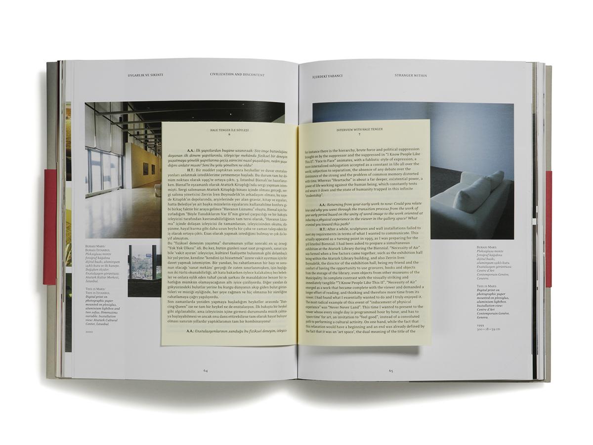 contemporary art series book monography Turkey