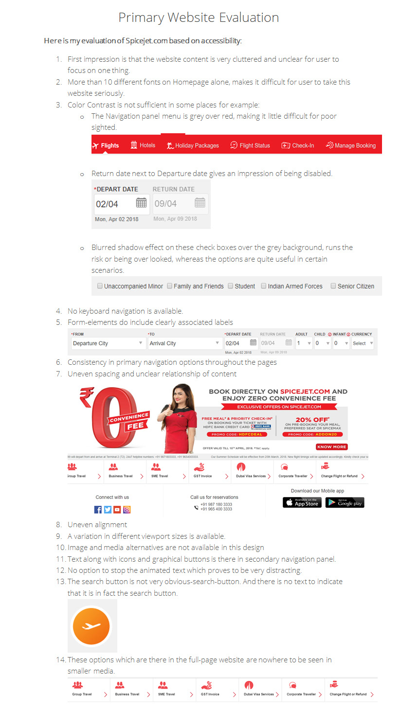 Concept Redesign of Spicejet com on Behance