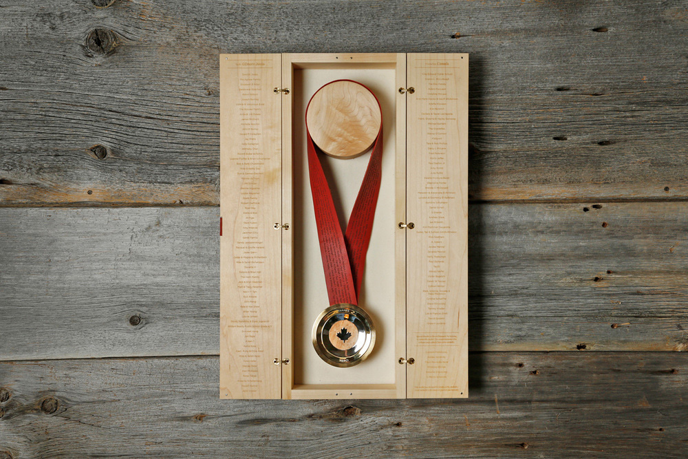 Olympics Games Medal award gilmore sochi Crowd funded