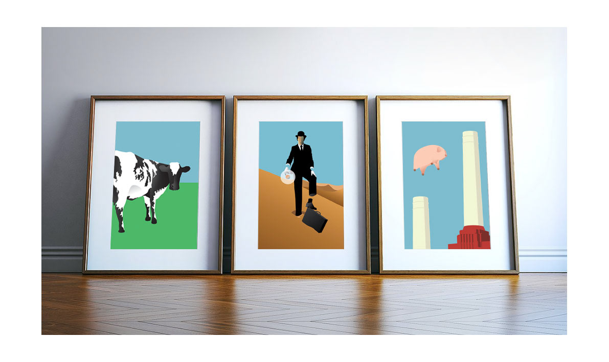 Pink Floyd Graphic Art Prints On Behance