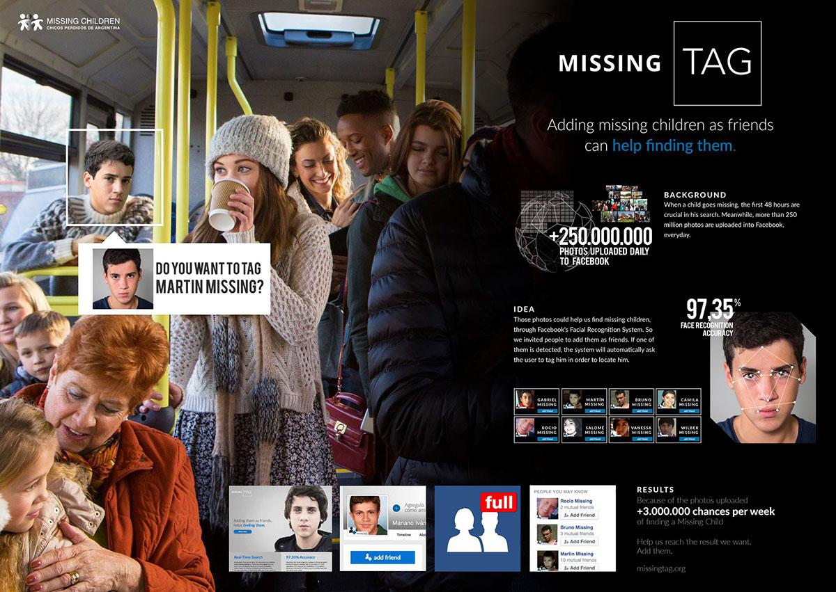missing tag Data missing children Deep Face Technology social facebook
