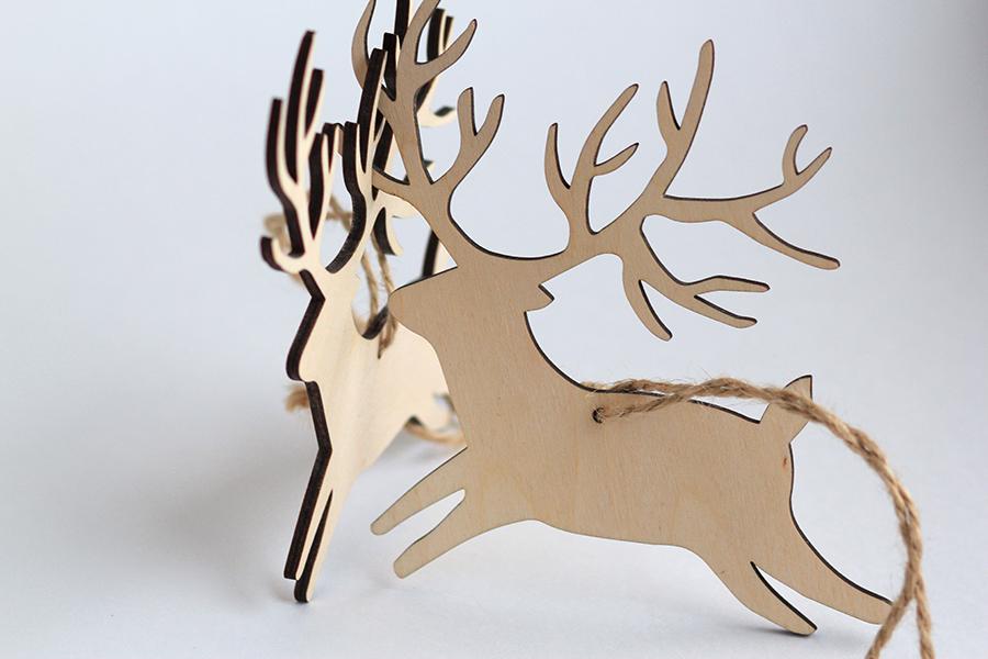fairy forest monbon macaron box note Sweets bakery FOX rabbit deer chrismas postcard craft Рождество newyear