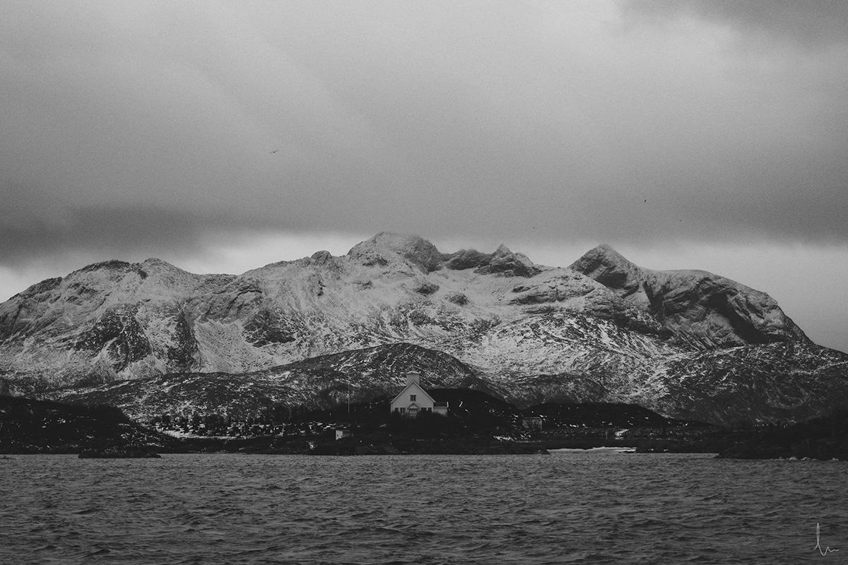 photo norway Norge Tromsø Arctic snow mountain sea