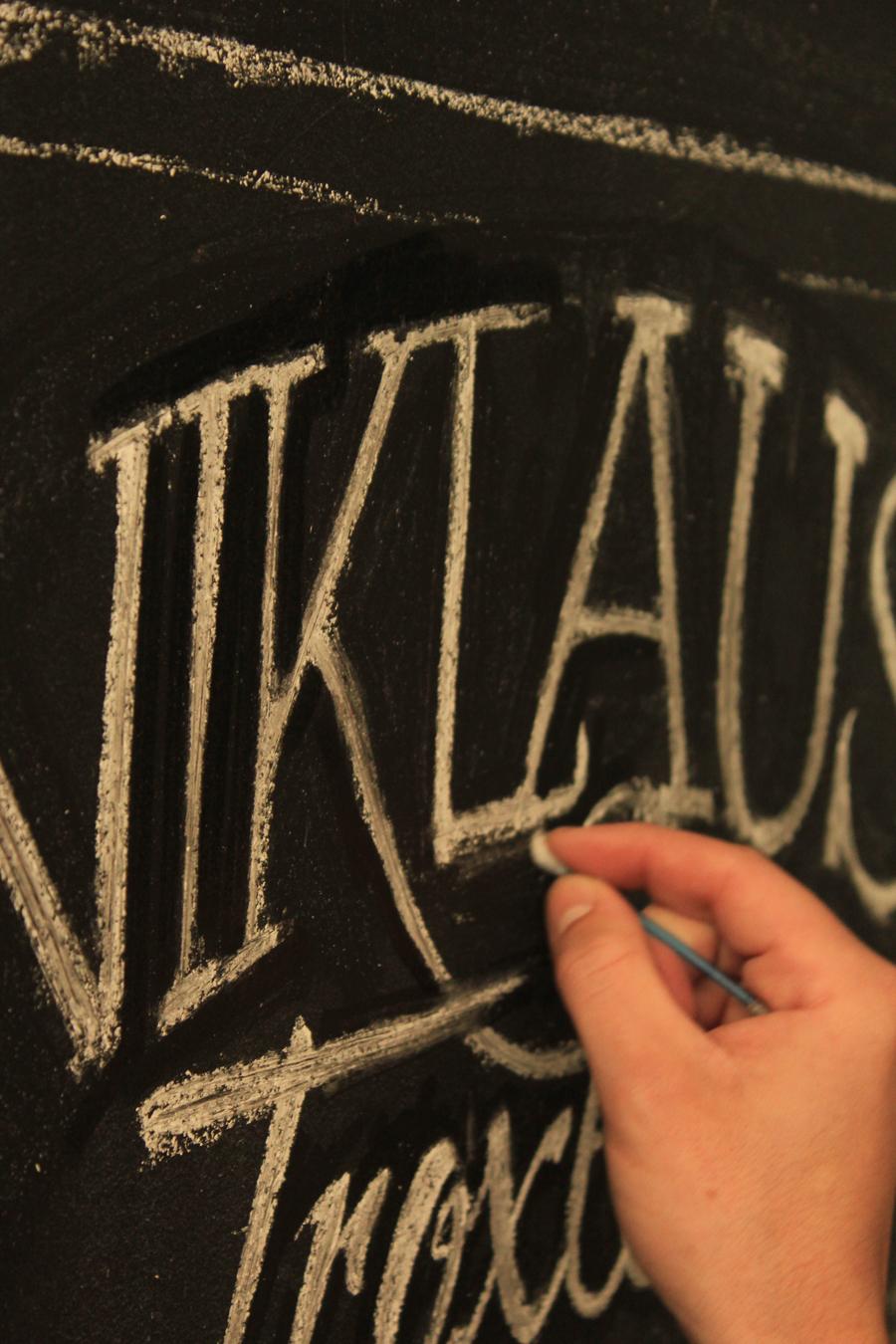 chalk  handmade font desing  tiza trimarchidg mar del plata argentina diseño gráfico