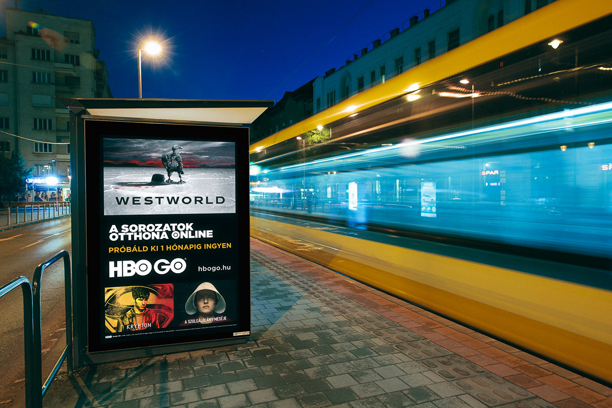 HBO GO Print Campaign 2018 on Behance