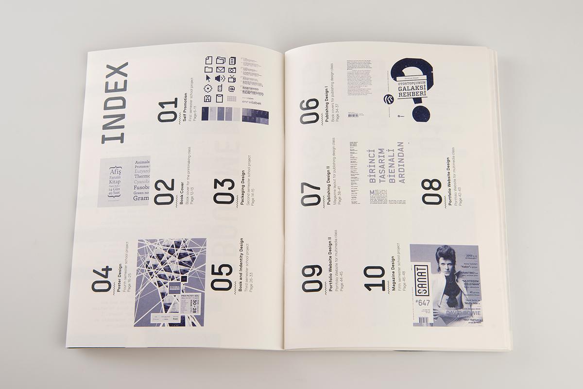 portfolio booklet on behance