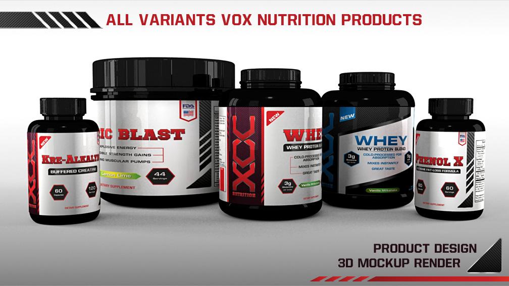VOX Nutrition on Behance