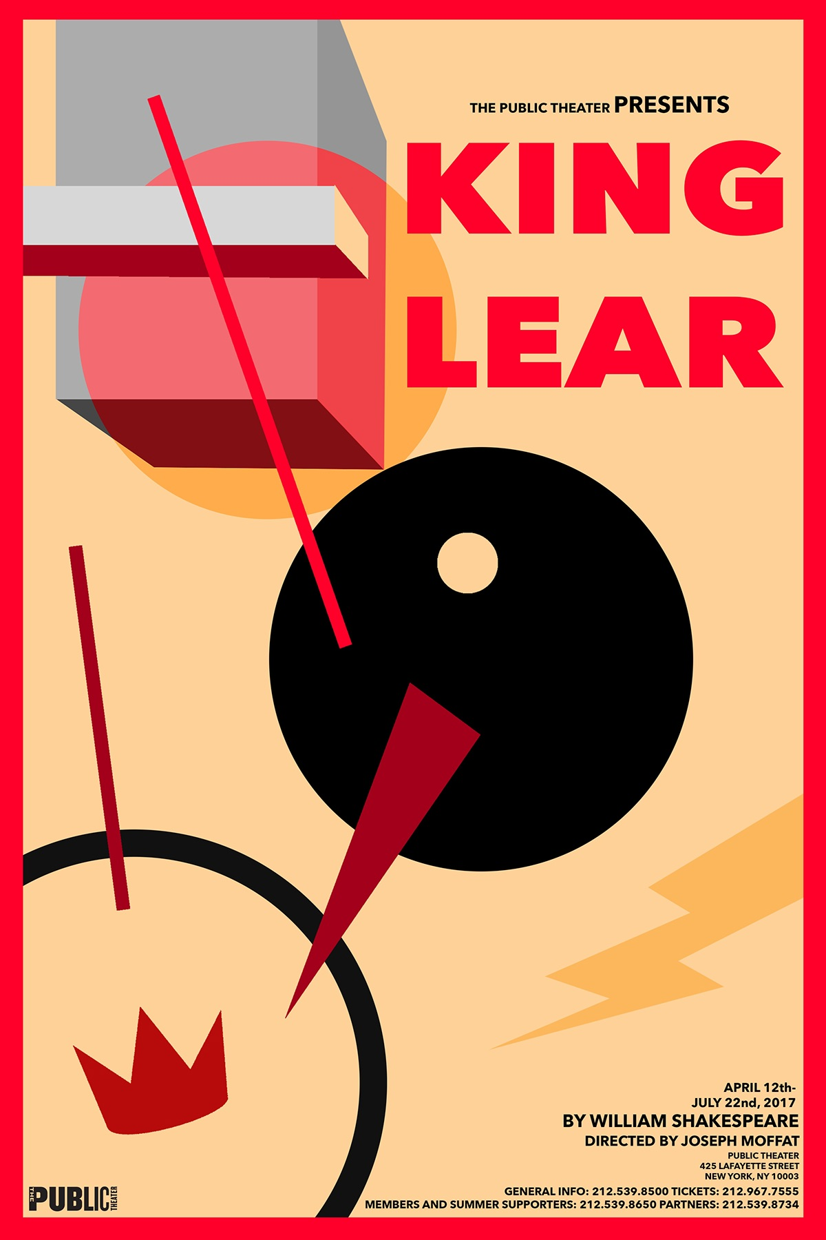 King Lear Alternative Play Posters On Behance