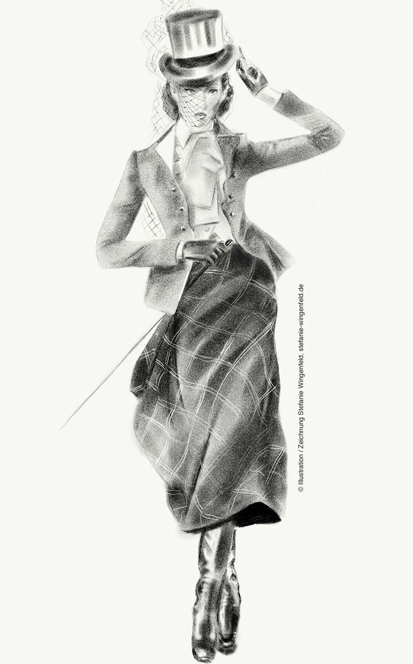 Adobe Portfolio ILLUSTRATION  Fashion  Mode fashionillustration modeillustration Illustrator Frankfurt Stefanie Wingenfeld adobe sketch iPad apple pencil