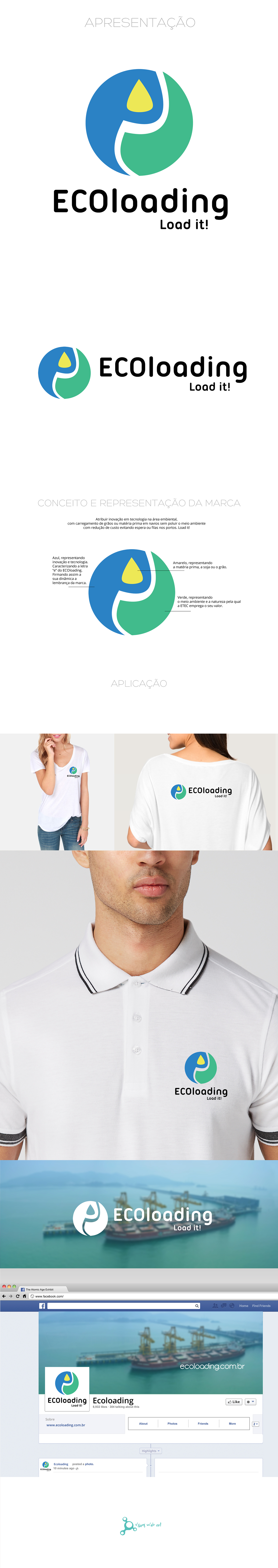 logo brand flatdesign green blue eco clean