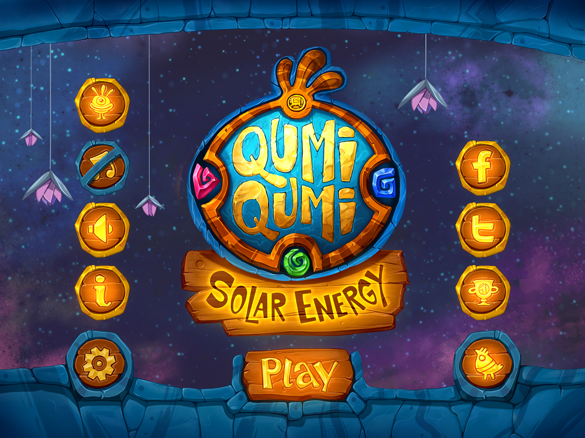Qumi qumi solar energy on behance for Solar energy games