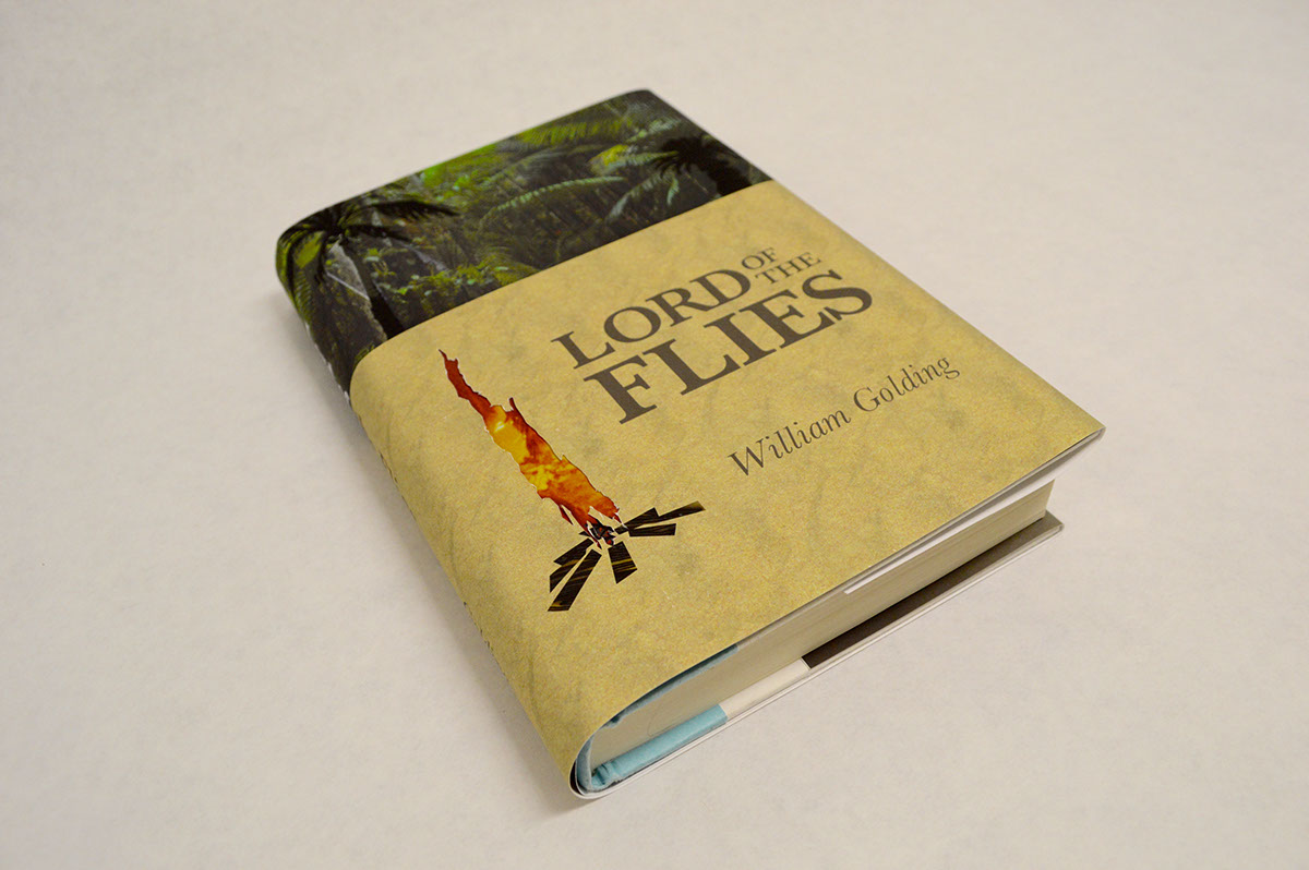 Lord Of The Flies Dust Jacket And Cover On Risd Portfolios