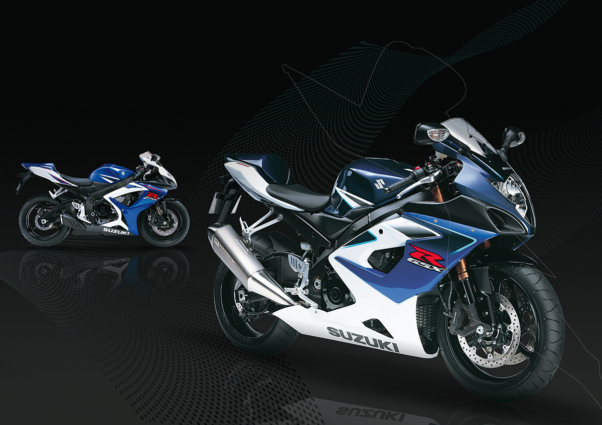 Suzuki GSX-R brochure motorbikes Racing Supersport Street bikes