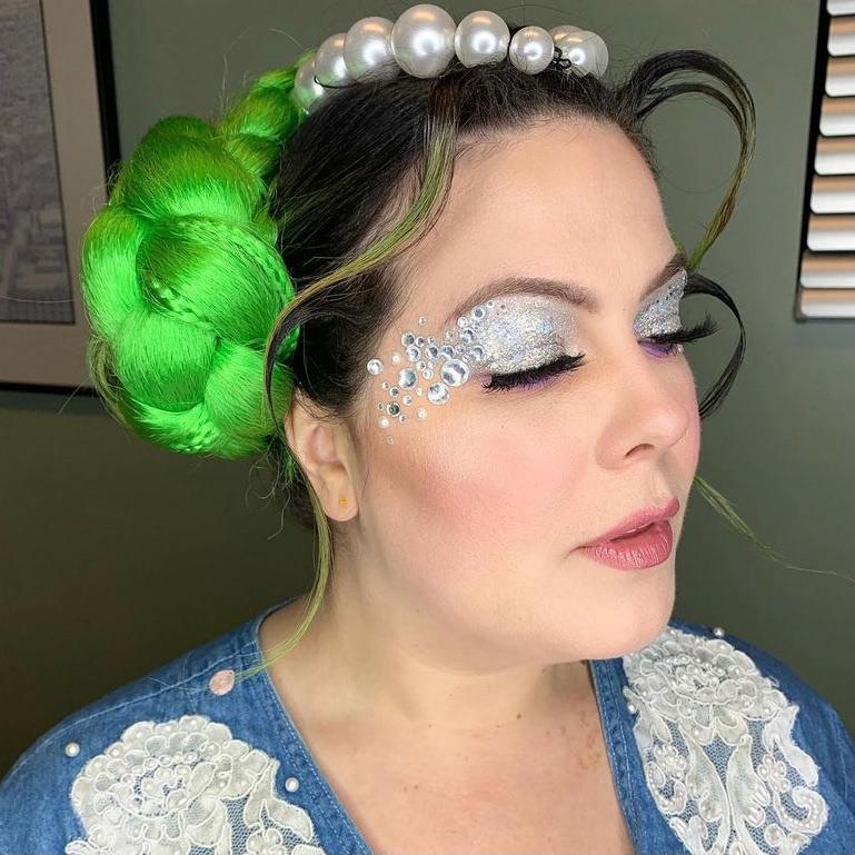 creative makeup music
