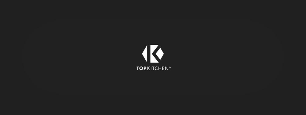 topkitchen, logo, B&W, black and white