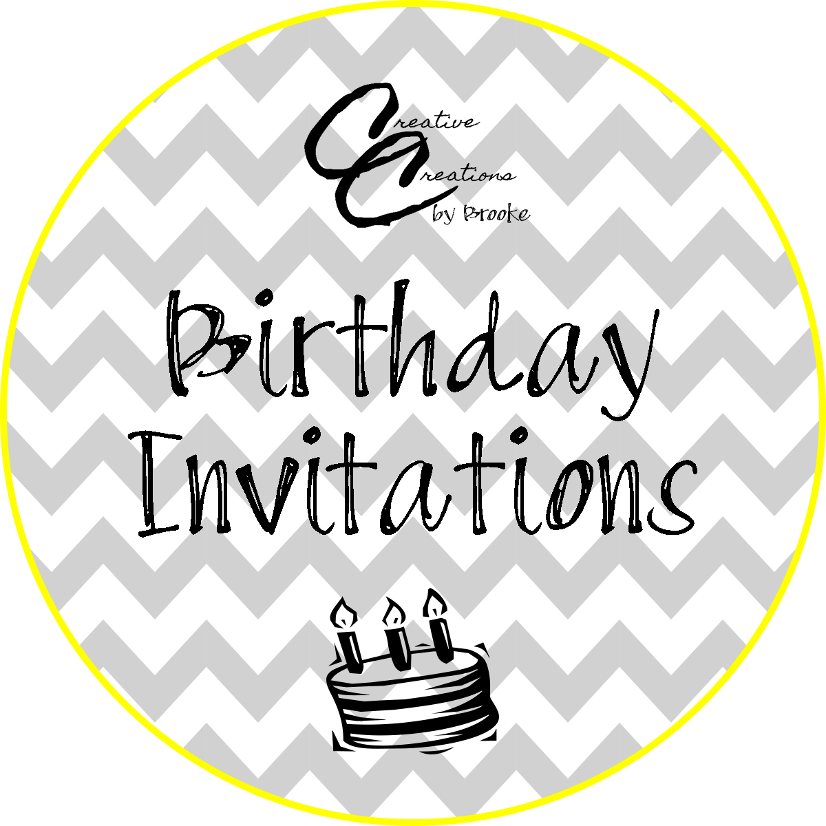 Custom Birthday Invitations For All Whether She Is Turning 7 Or He 70 The Possibilities