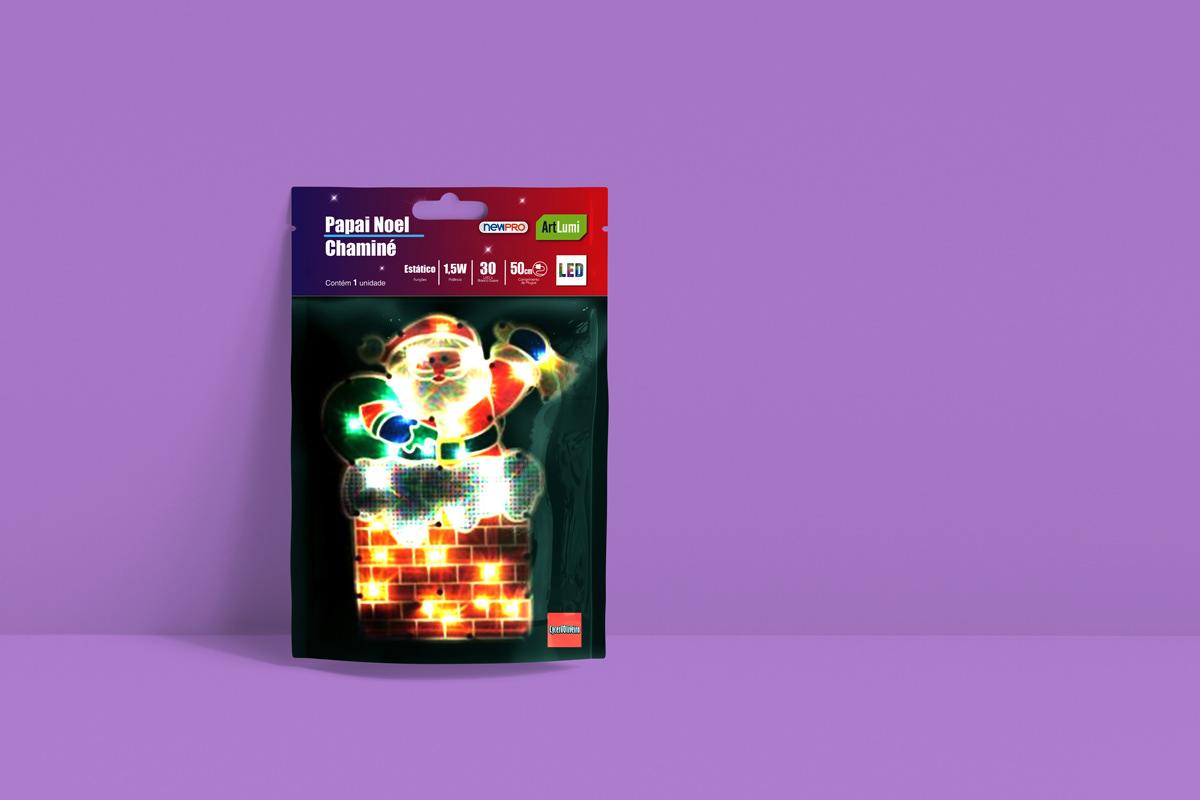 card design embalagem natal