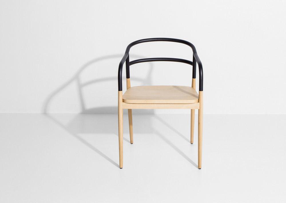 furniture table chair armchair design AC/AL studio Petite Friture wood steel
