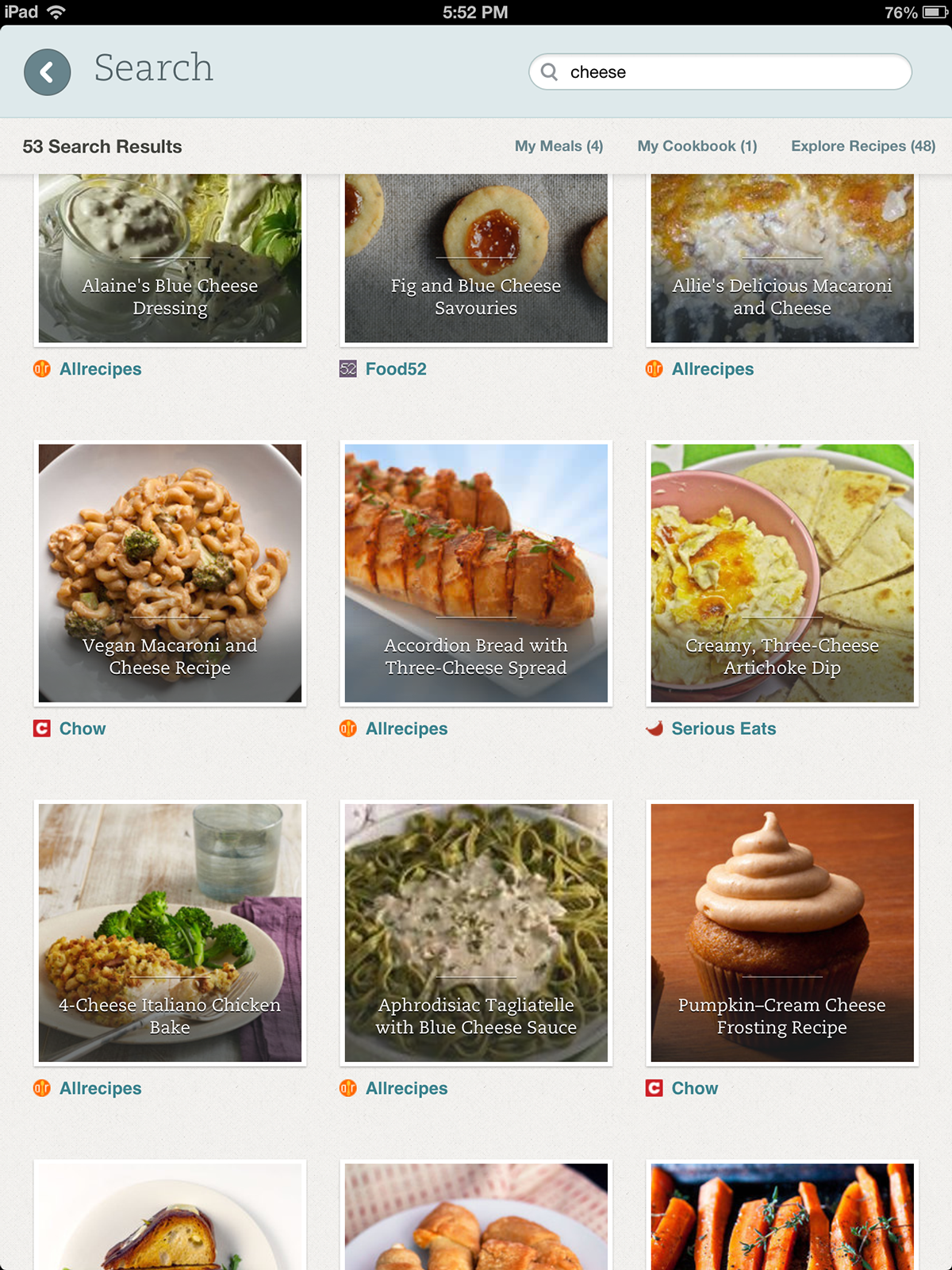 evernote  FOOD  iOS  ipad  iphone recipe app browse  remember