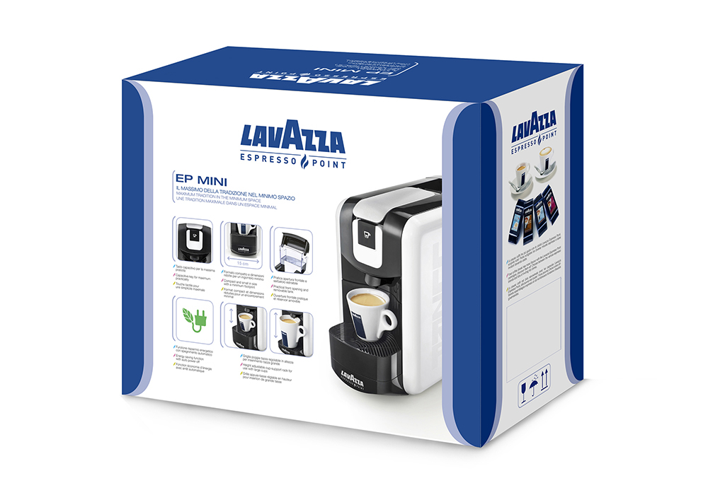 packaging design graphic italian coffee Lavazza vending Below the Line