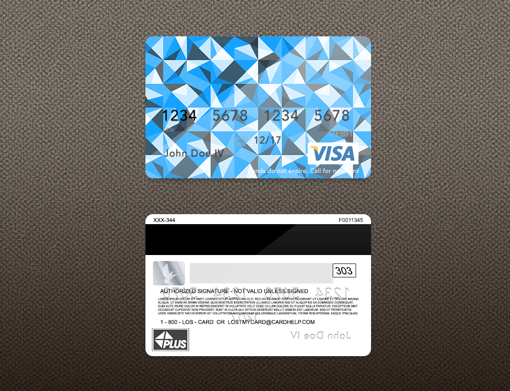 bank card psd template on behance