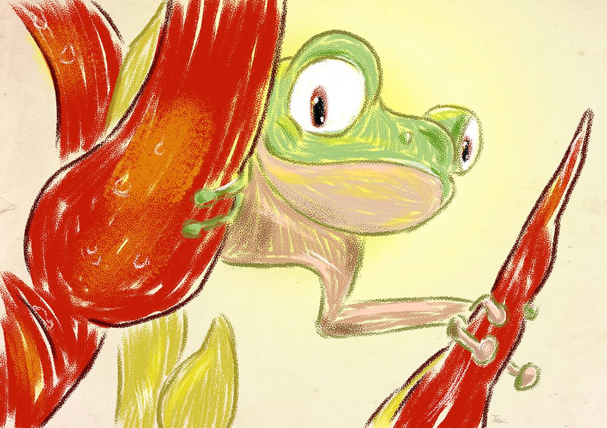 Ilustração pintura digital digital painting ILLUSTRATION