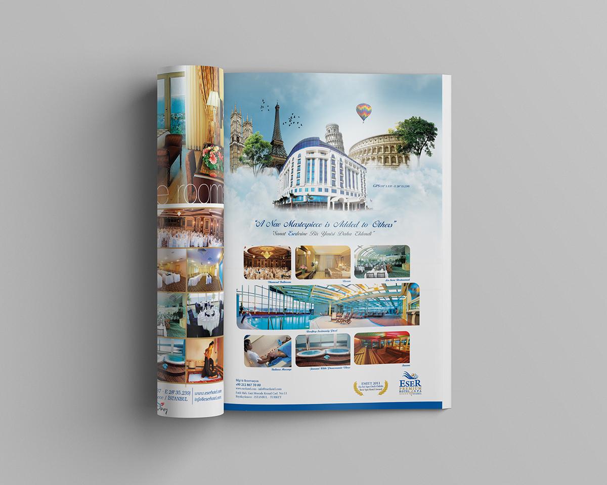 Hotel Magazine Ads on Behance