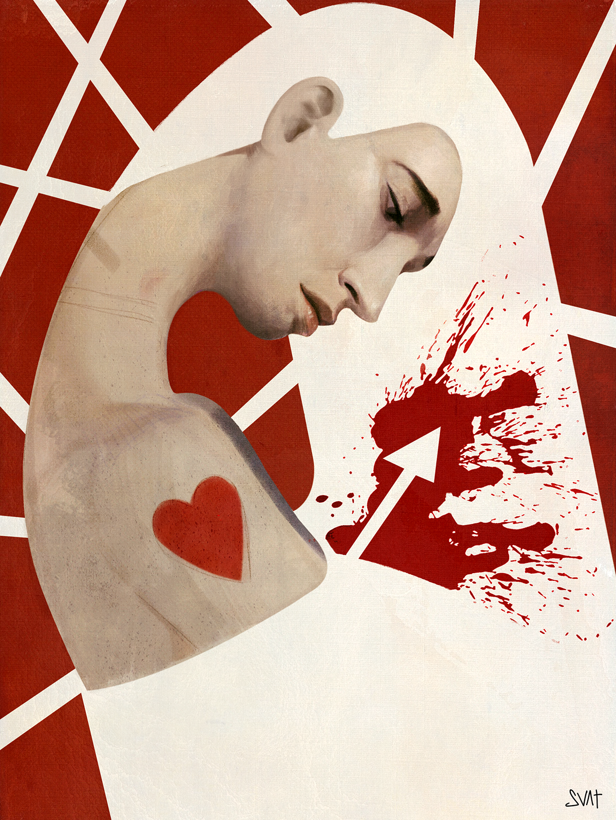 'Betreyal' Illustration done for an article about cheating in relationships.