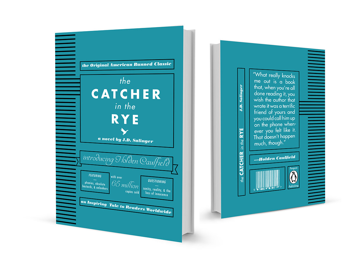the Catcher in the Rye on Behance
