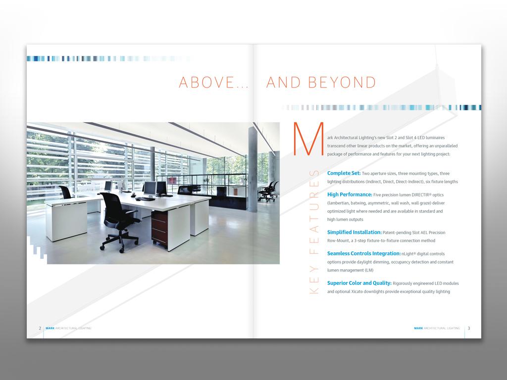 Thank You!  sc 1 st  Behance & MARK Architectural Lighting Brochure on Behance