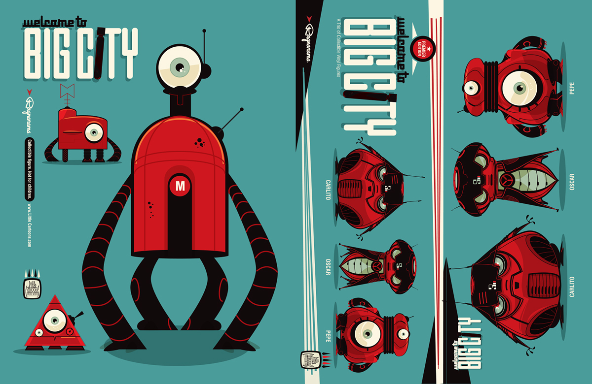 The Art Of Character Design With David Colman Volume 2 : The art of big city vol on behance