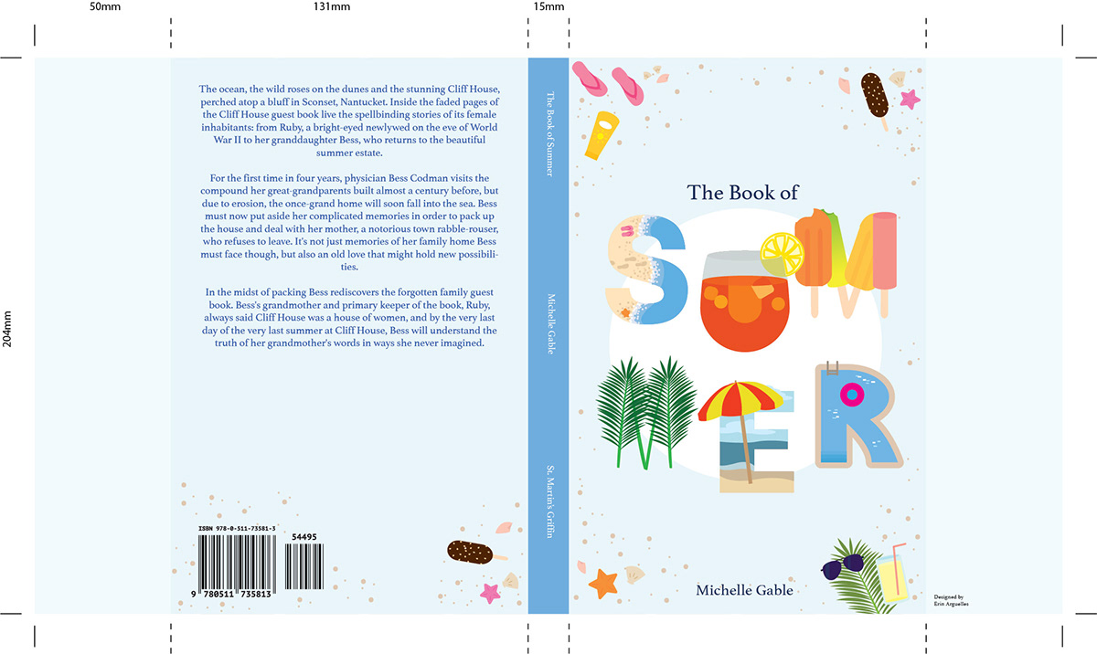 book cover Vector Illustration