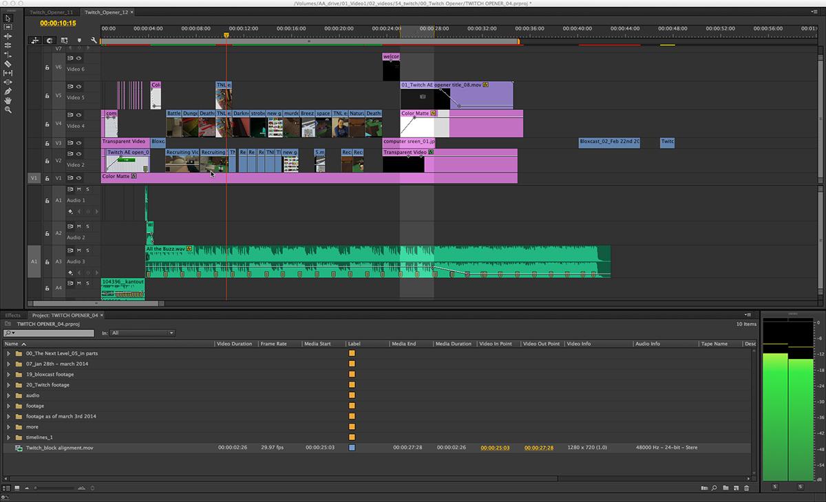 Premiere Pro after effects photoshop Illustrator speedgrade Audition Adobe Media encoder NewTek TriCaster apps Telestream Wirecast studio Blackmagic Media express