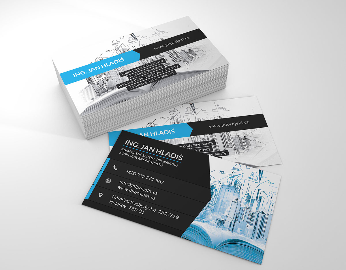 digging business card project engineer