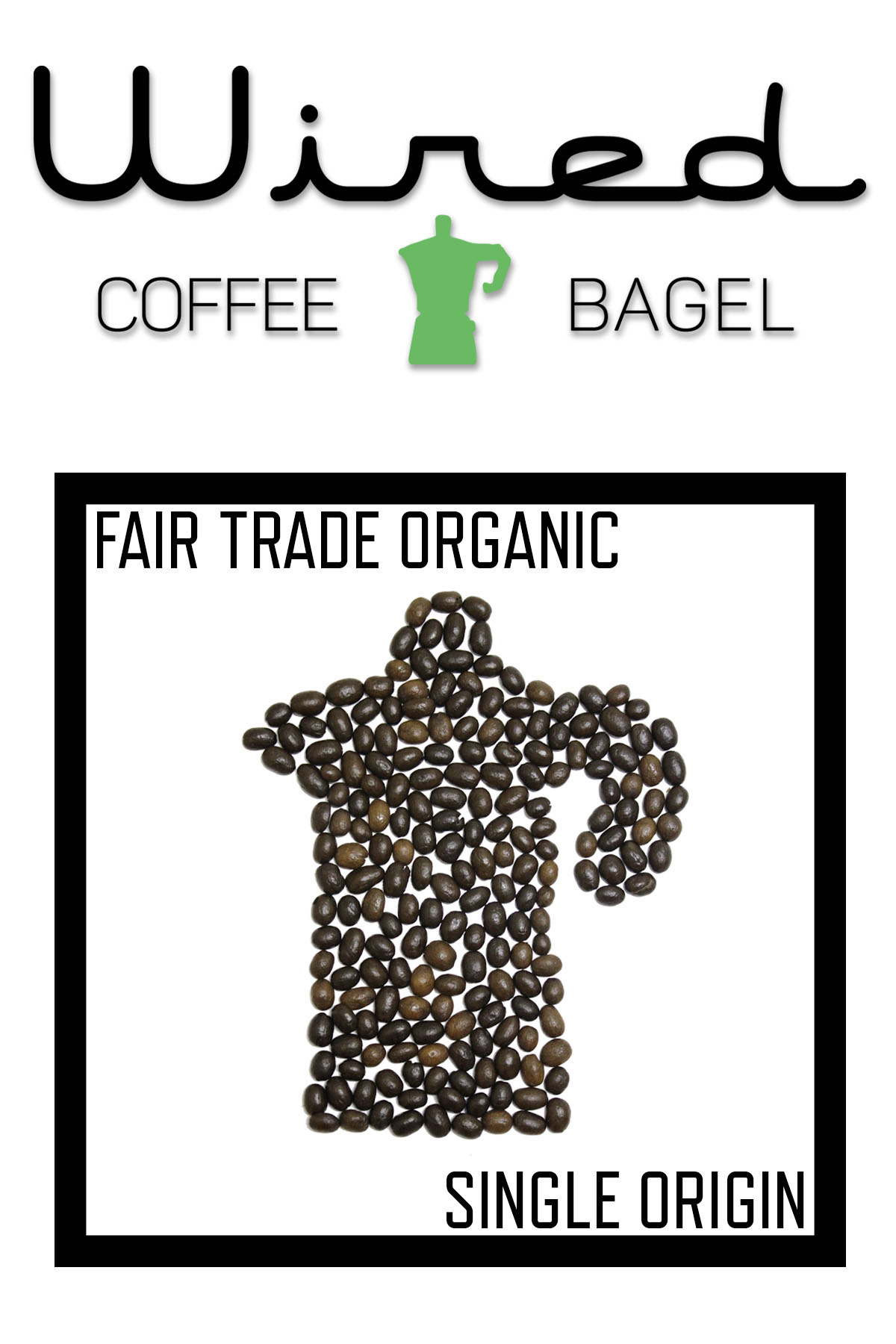 Wired Coffee & Bagel Postcard Mock-Up (Front & Back) on Behance