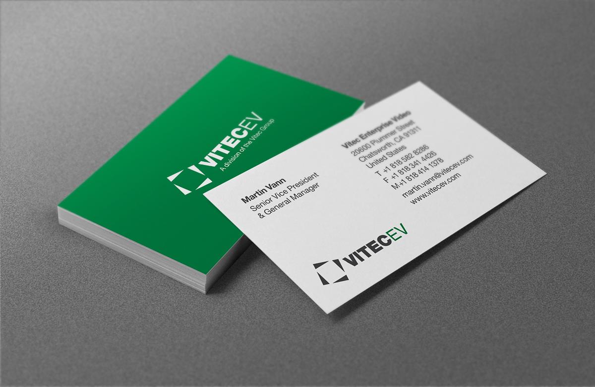 VitecEV | Business Cards on Behance